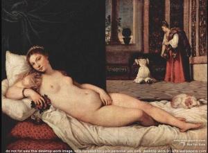 Titian's Venus of Urbino (1538)
