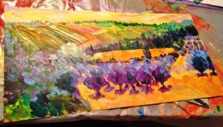 A new landscape work in progress.