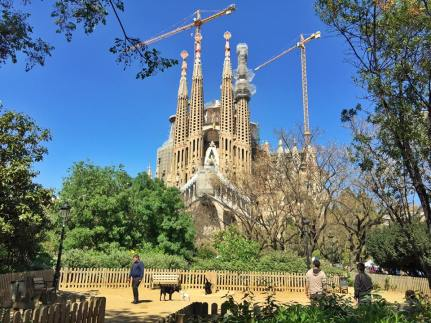Sagrada Familia, a work of art still in progress.