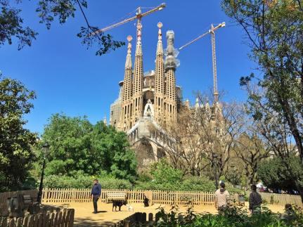 Sagrada Familia, a work of art still in progress.