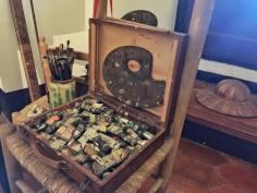 Dali's last palette.