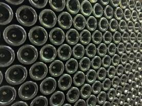 A wine cellar — well stocked, I might add!
