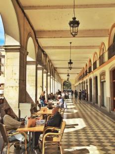 Café life, a favorite European experience.