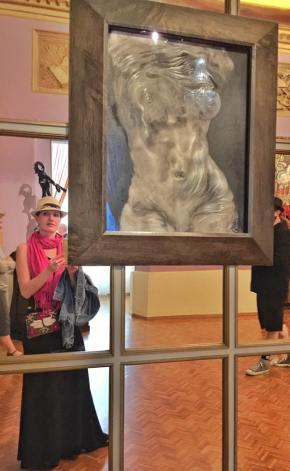 Self portrait with a Dali