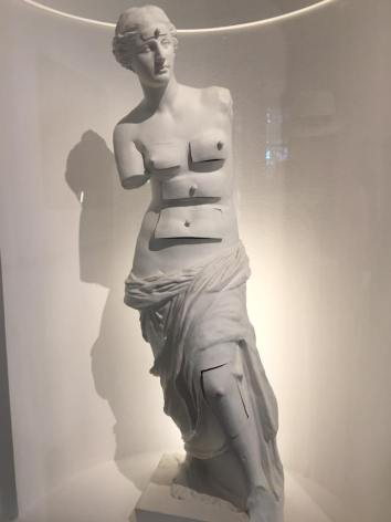 Venus de Milo, as interpreted by Dali