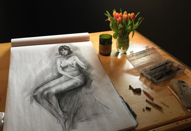 A Copy From Henry Yans Book Figure Drawing